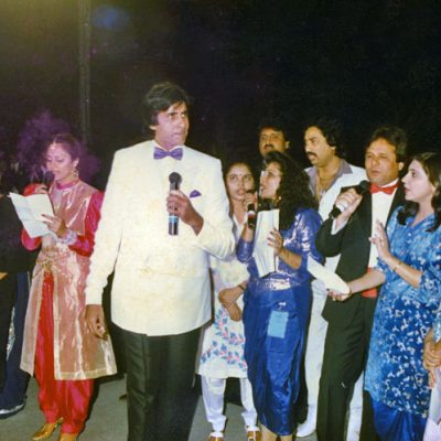 With: Amitabh Bachchan